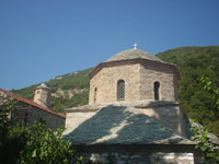 Skiathos church of Evagelistria