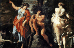 Hercule meet Virtue and Evil