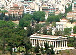 the agora of Athens Greece
