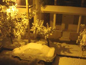 winter in Athens