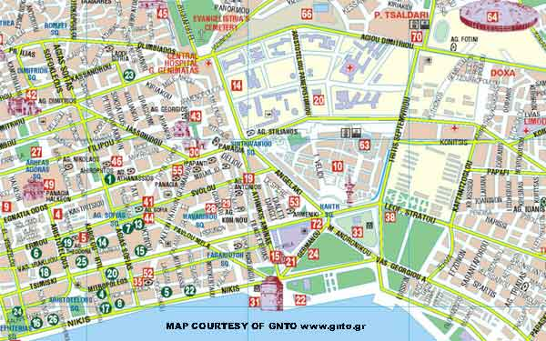 Kingston Gallery Thessaloniki Greece Map
