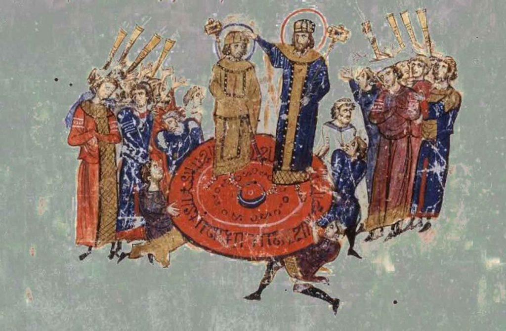 byzantine fresco