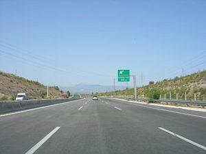 greek roads