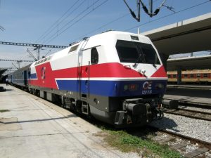 greek railways